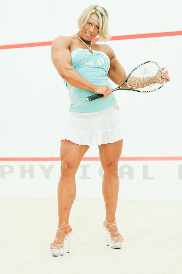 Julie Bourassa | Muscle women, Body building women