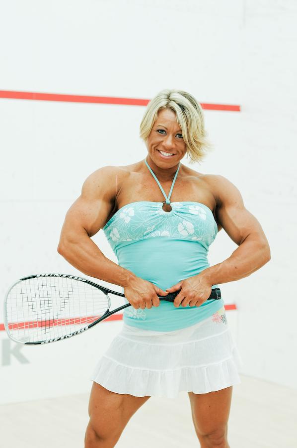Julie Bourassa | Muscular women, Muscle women, Body