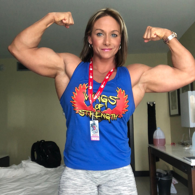 Theresa Ivancik | Body building women, Bodybuilding, Women