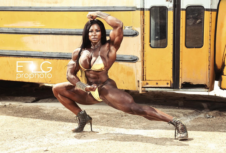Margie V. Martin - Wings of Strength | Muscular women
