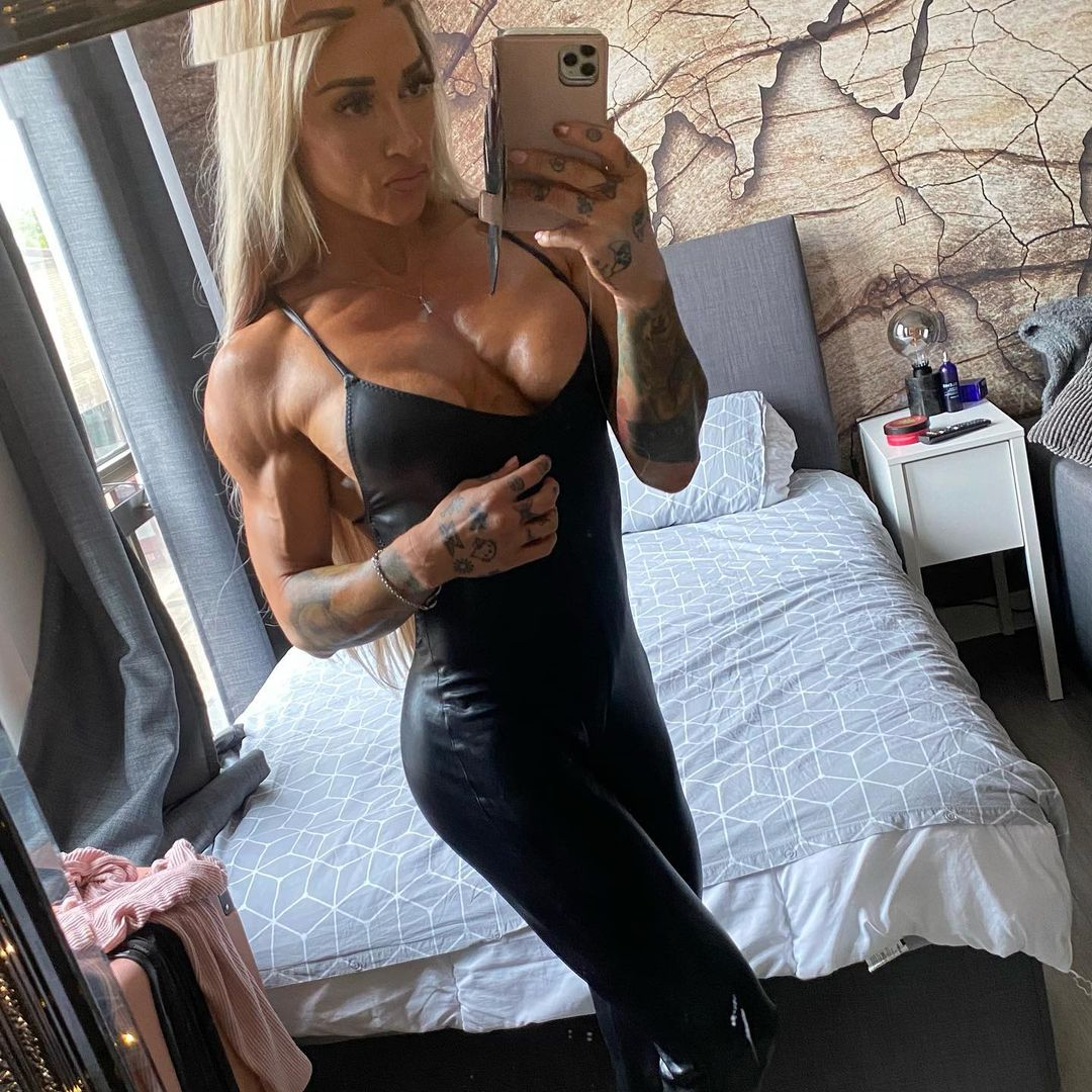 Kristina Parks | Muscle girls, Back and biceps, Delts