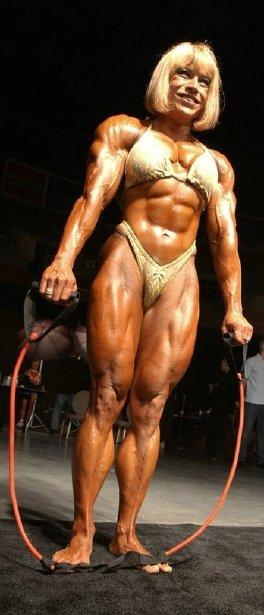 Free nude female athlete