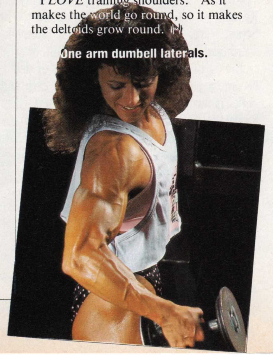Teen cinderella girl muscles