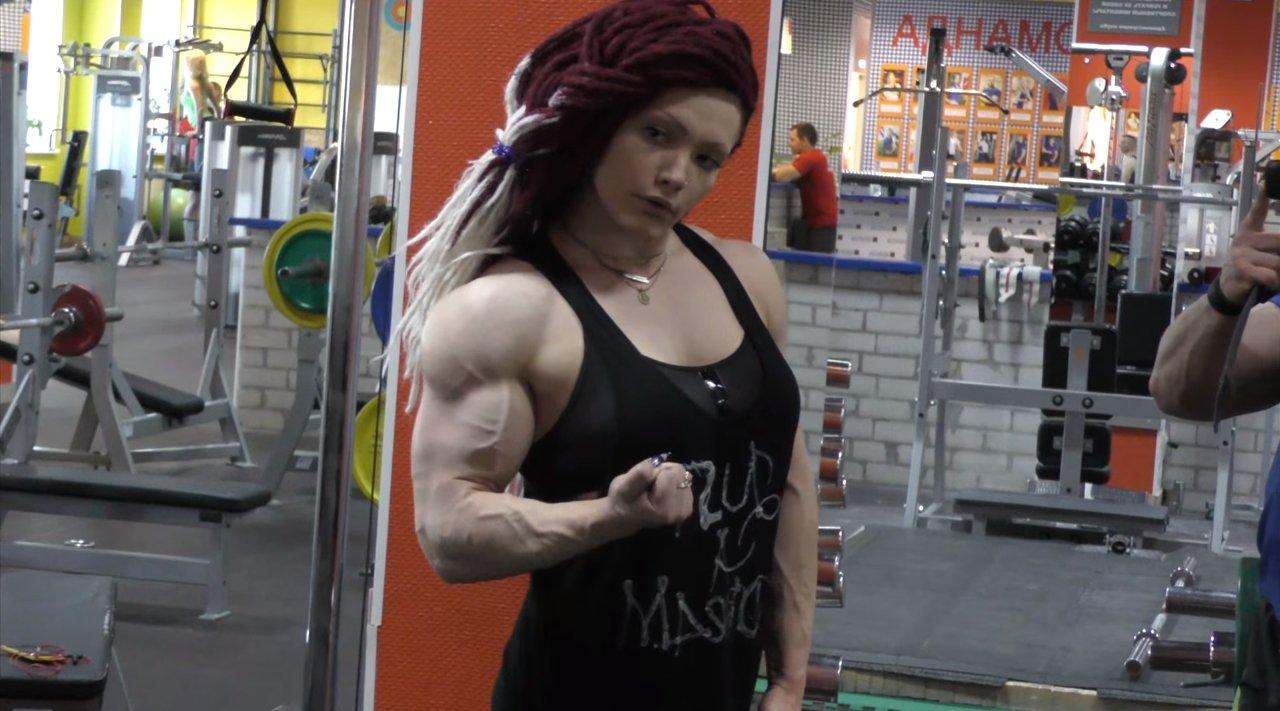 Gym Work: Natalya Kovalyova.