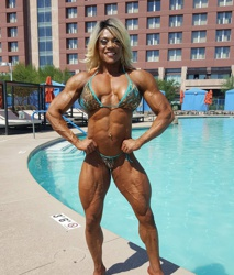 Opinion you Female bodybuilders carmella tubes can